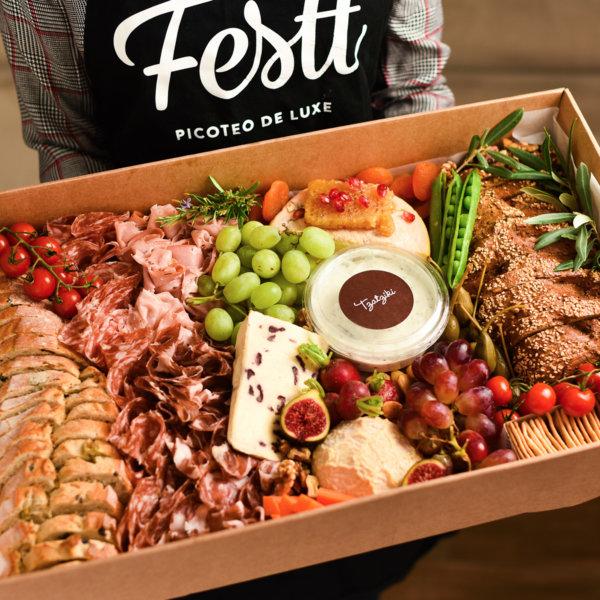 Caja regalo gourmet Festt