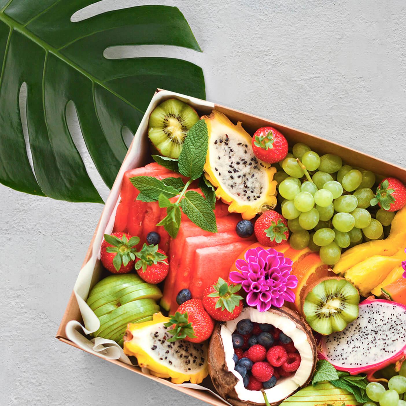 Caja regalo de frutas