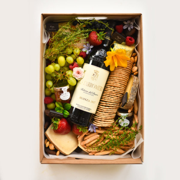 caja de quesos de autor