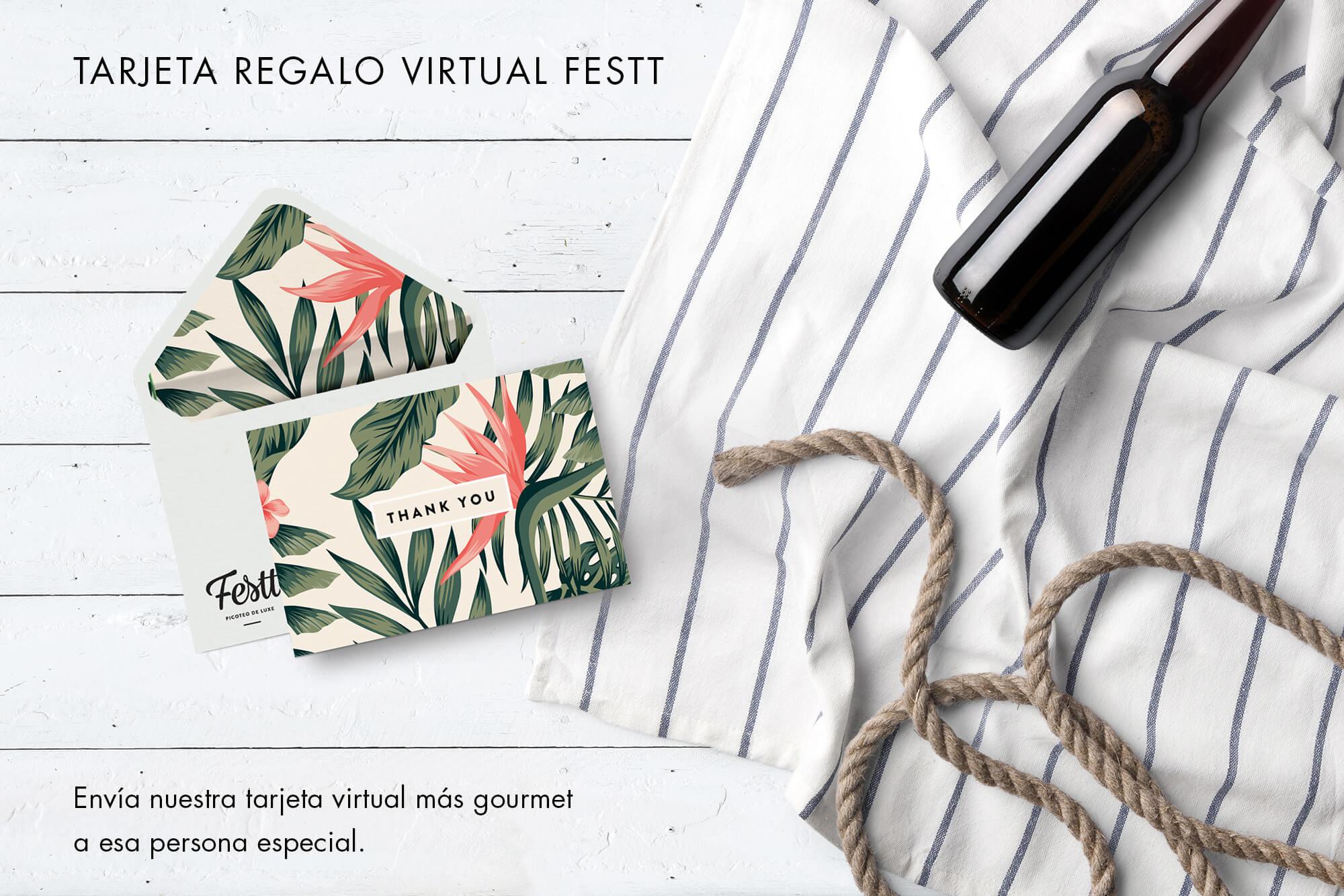 Tarjeta regalo virtual Festt
