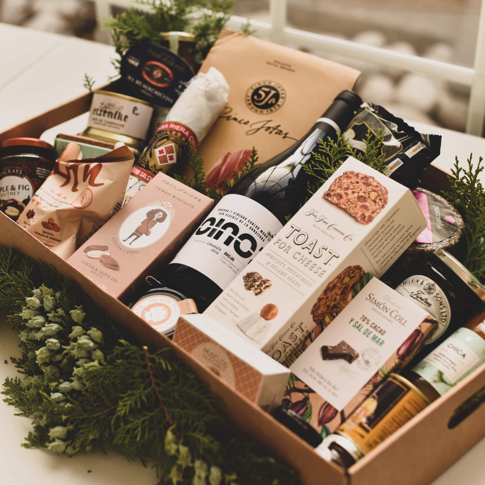caja gourmet navidad