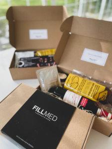 kits de catering para eventos virtuales