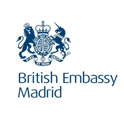 Logo British Embassy Madrid