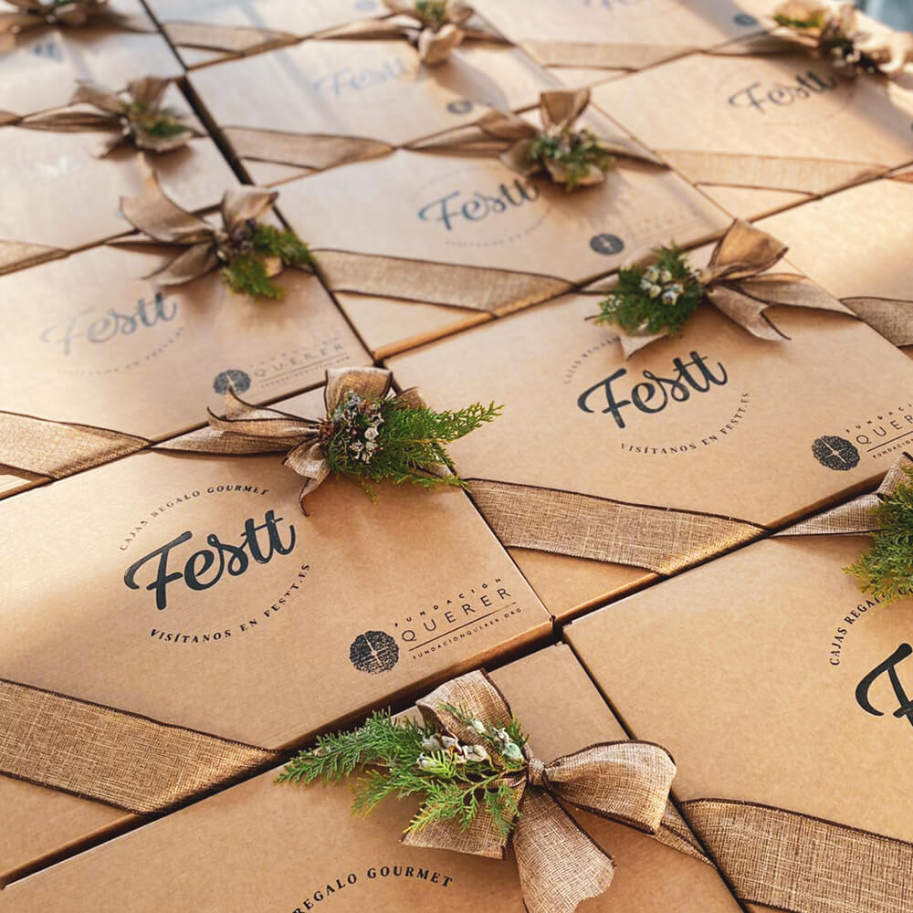 cajas gourmet navidad